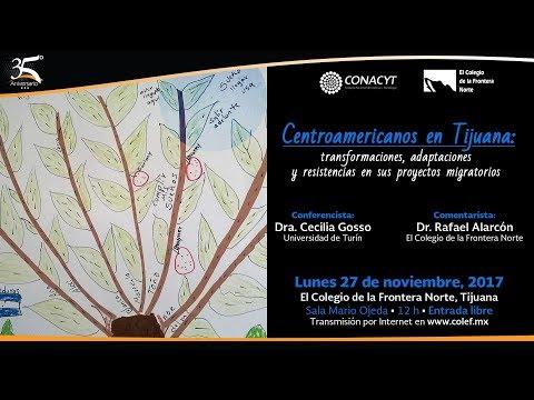 Centroamericanos en Tijuana...   Seminario DES