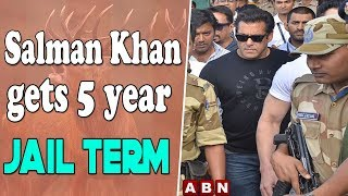 Bollywood Star Salman Khan Sentenced To 5 Years In Black Buck Poaching Case | ABN Telugu