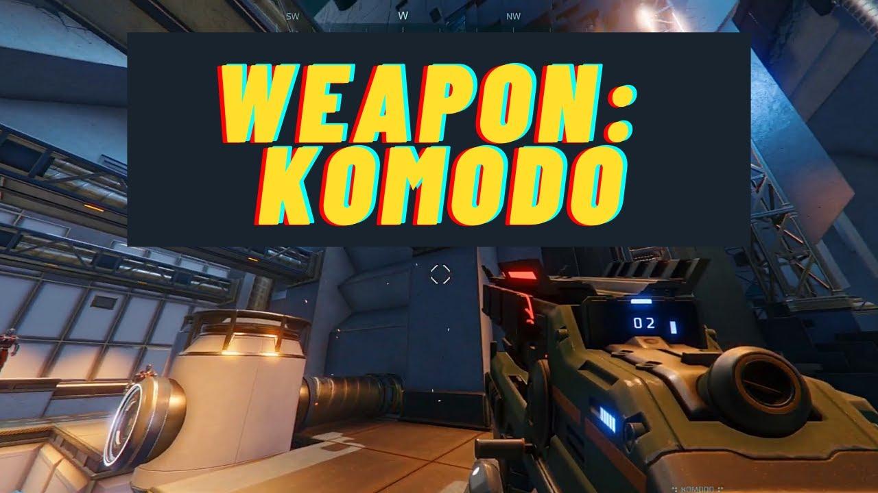 Komodo | Hyper Scape - Weapon Spotlight - YouTube