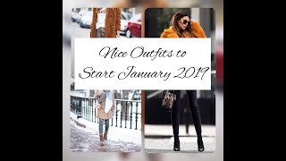 25+ Chic Winter Women's Outfits to Start Fashionable January 2019.