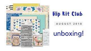 Hip Kit Club - August 2018 - kit share