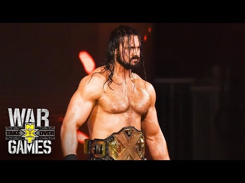 Drew McIntyre makes his awe-inspiring entrance: NXT TakeOver: WarGames (WWE Network Exclusive)