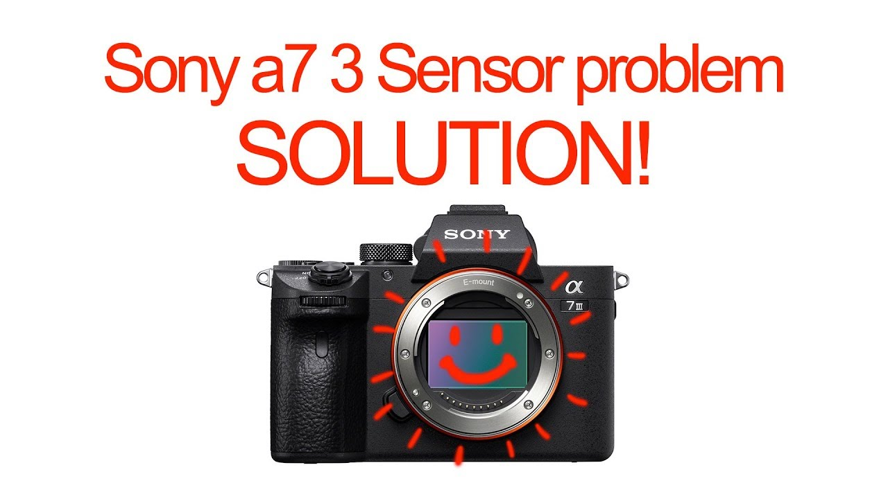 Potential Sony A7 III Sensor Issue to Be Aware Of and How to