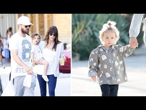 Justin Timberlake & Jessica Biel's Son Silas Timberlake 2017