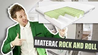 Materac ROCK AND ROLL Hilding Piankowy, Termoelastyczny, Visco 140x200, 160x200, 180x200, 200x200 cm