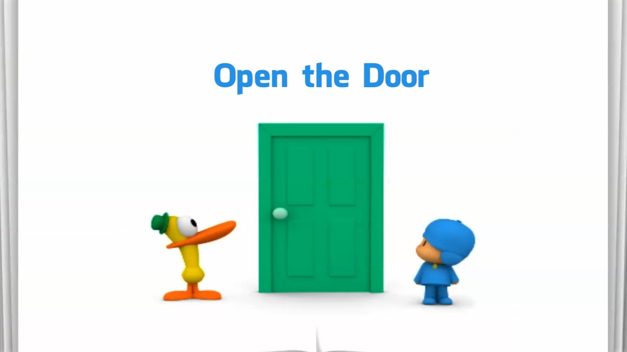 Open the Door - Pocoyo  sc 1 st  YouTube & Open the Door - Pocoyo - YouTube