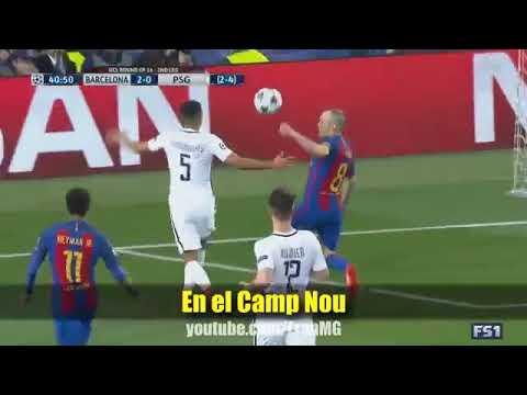 Canci C3 B3n Barcelona   PSG 6 1  28Parodia Enrique Iglesias  Subeme la radio 29
