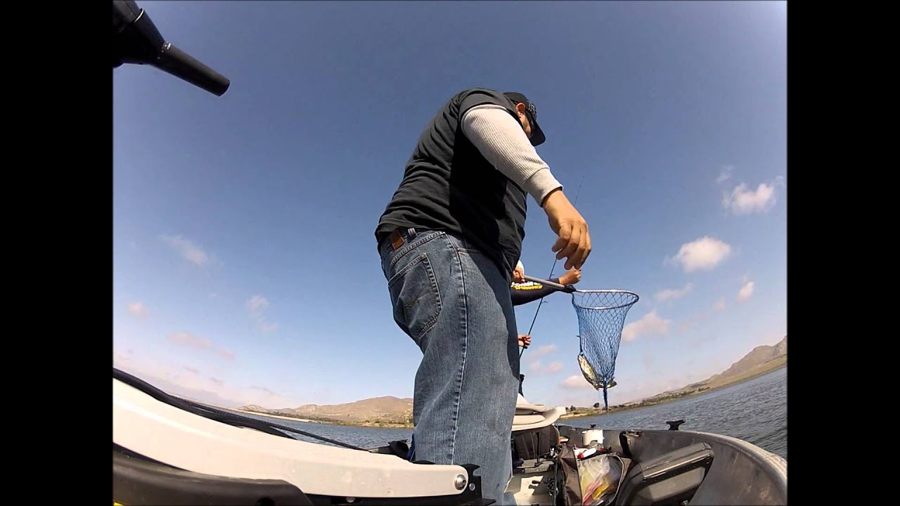 The calm before the storm lake perris 3 25 youtube for Lake perris fishing report