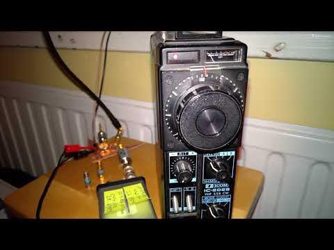 QO-100, no dish, ICOM IC-202S as the direct 2m IF - YouTube