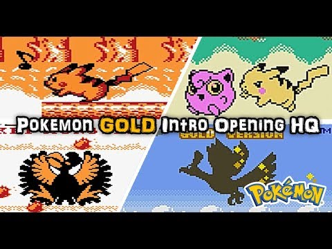 Pokémon Gold & Silver Beta Opening REAL Difference Between Demo and Final GBC