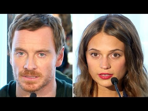 The Light Between Oceans Press Conference - Michael Fassbender & Alicia Vikander
