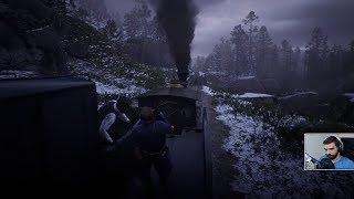 Red Dead Redemption 2 #3 - Napad na pociąg! [fabuła]