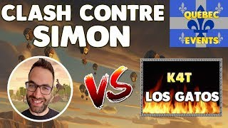 TEAM SIMON VS K4T LOS GATOS - ON AFFRONTE UN TOP CLAN !!