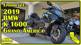2019 BMW K 1600 B Grand America 2 Up Review