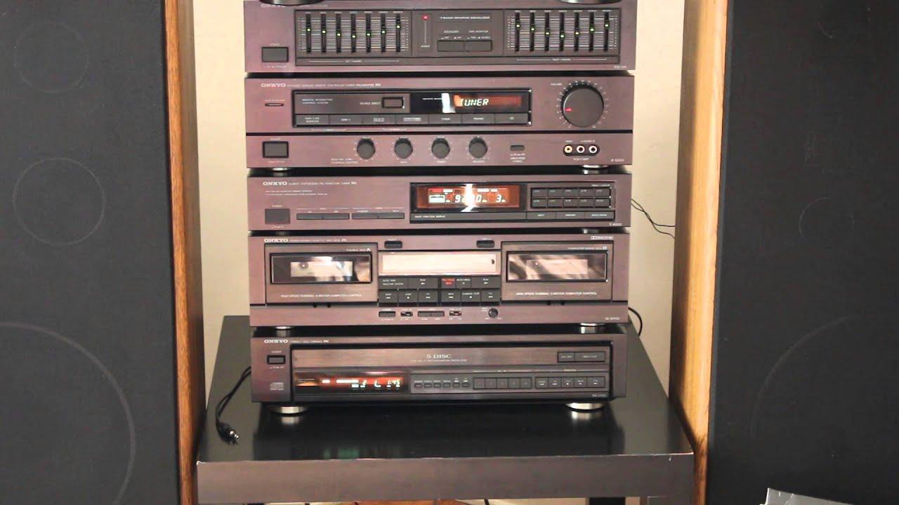Onkyo Music System M-5100 P-3300 Full Set Test
