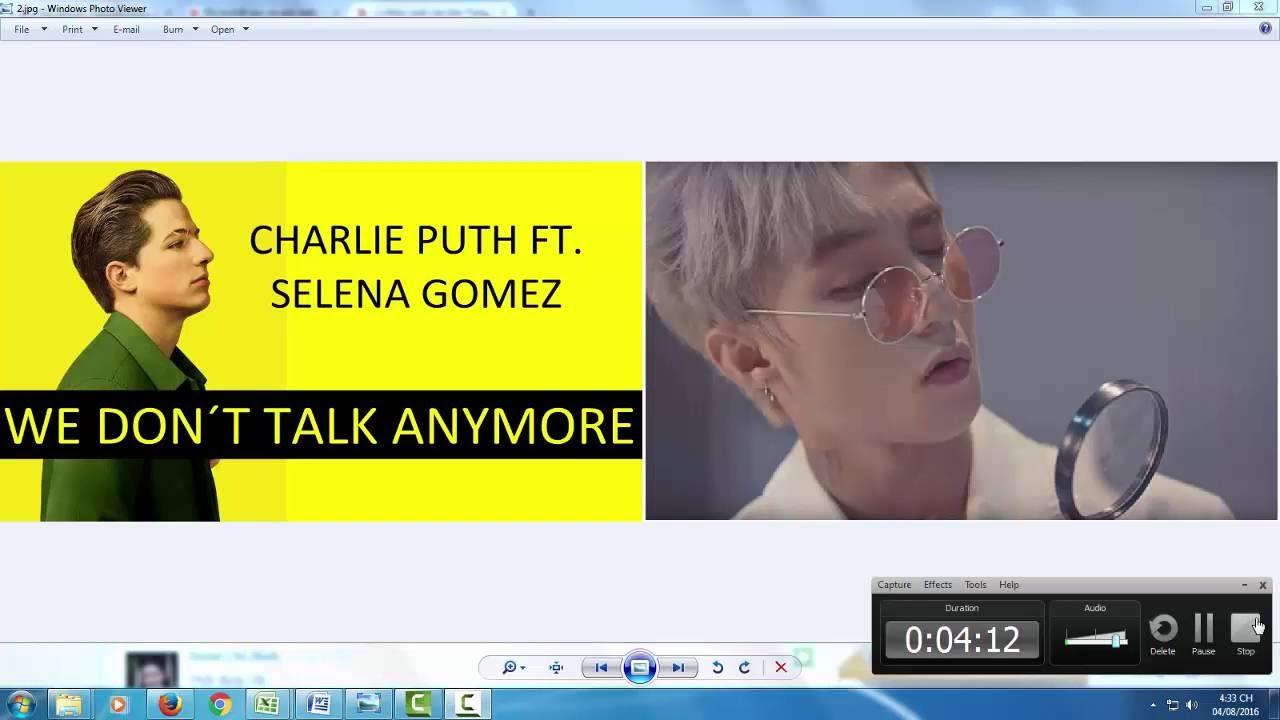 Sơn Tùng MTP đạo nhạc MV We don't talk anymore – Chúng ta không thuộc về nhau?