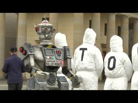 شاهد: الألمان يلبسون زي الروبوت للاحتجاج على -الروبوتات القاتلة-…  - نشر قبل 39 دقيقة