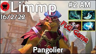 Limmp [coL] plays Pangolier!!! Dota 2 Full Game 7.21