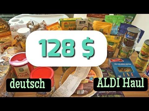 128 $ ALDI Haul USA deutsch Wocheneinkauf in Florida, Lehigh Acres