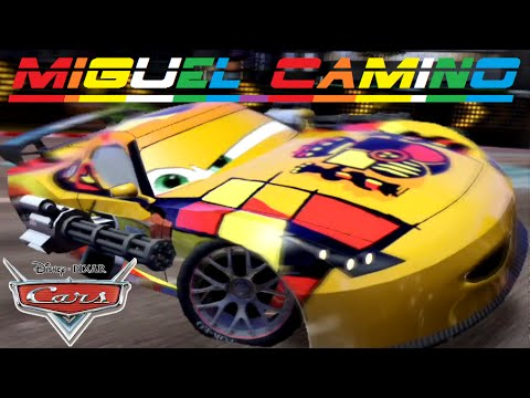 Cars 2 miguel camino friend from lightning mcqueen mater finn mcmissile youtube - Coloriage cars 2 miguel camino ...