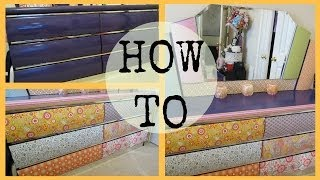 How To: Revamp Your Dresser!