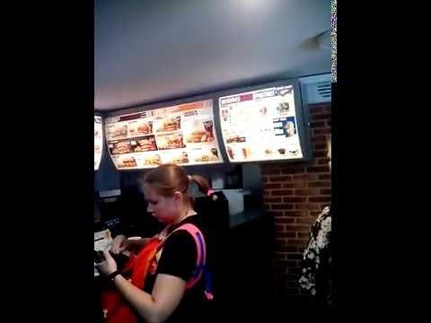 Фаст фуд Burger King Барселона Испания/Fast Food Burger King Barcelona Spain