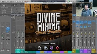 Divine Mixing - Waves Template (Logic Pro, Cubase and Pro Tools)