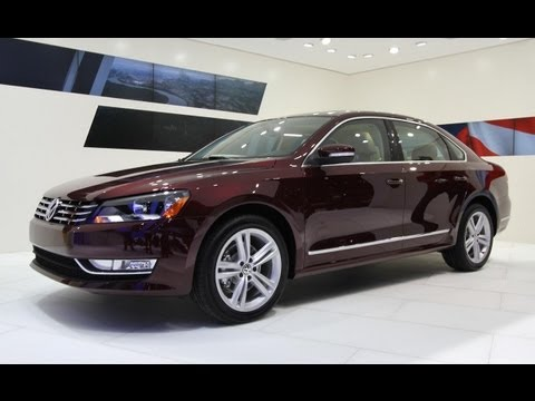 2012 Volkswagen Passat @ 2011 Detroit Auto Show - CAR and DRIVER