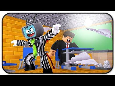 Escaping From School As The Teacher Sleeps In Roblox : LightTube