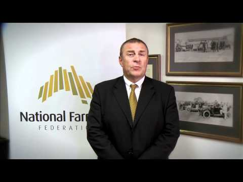 Australian Year of the Farmer Interview - Jock Laurie, President of National Farmers' Federation