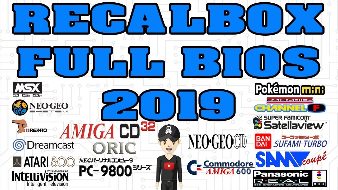 NEW RECALBOX V6 0-Dragon Blaze BIOS 2019 PACK FULL BIOS AMIGA 32CD ORIC 3DO  ATARI 5200 DREAMCAST