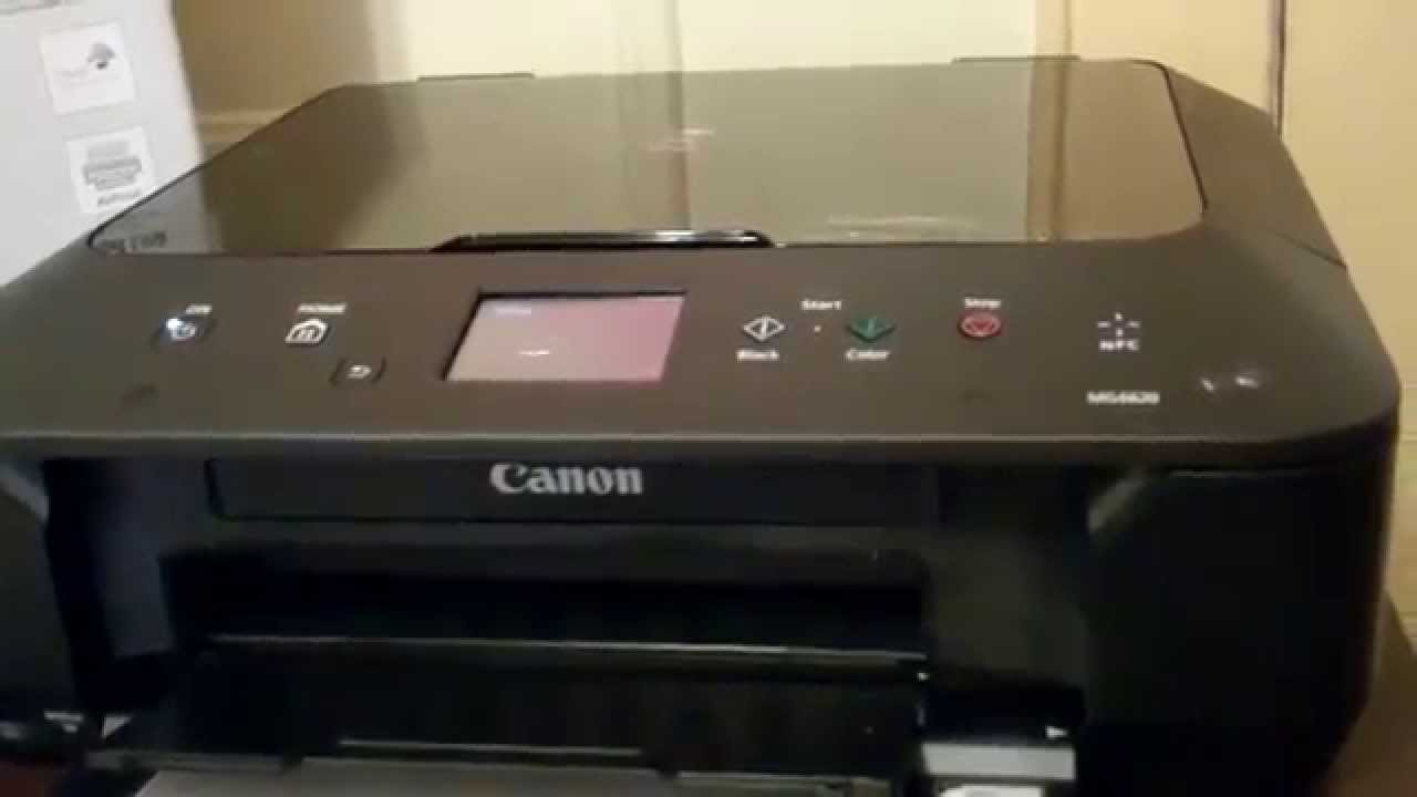 Canon PIXMA MG6620 Wireless All-in-One Inkjet Printer Ho ...