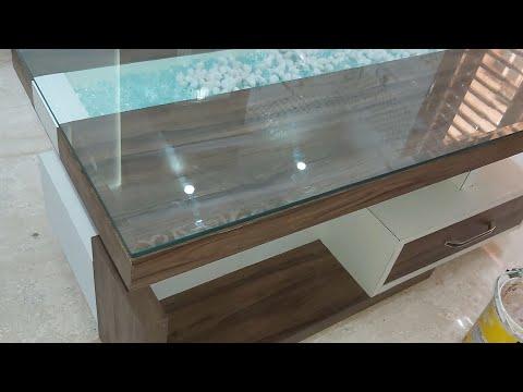 6+ Centre Table 2020 टेबल।  Living Room Design (wood Work Zk)