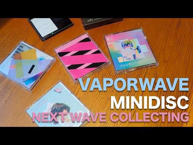 Vaporwave MiniDisc Collecting 101 with Reminiz (Matt)