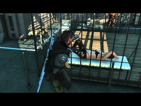 "Metal Gear Solid V  The Phantom Pain ""Визит к Молчунье"""