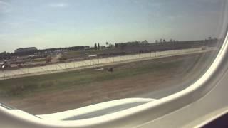 Lufthansa: Embraer 195 taxi and takeoff at Belgrade Nikola Tesla Airport