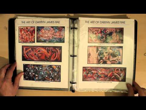 How to make a PORTFOLIO Tips for artists SELLING ARTWORK Tutorial ART BOOK by RAEART