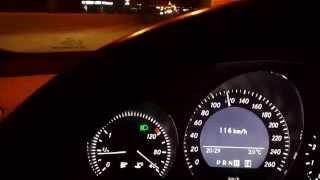 Mercedes C180 AMG Gece Performansı 0-100 km/h