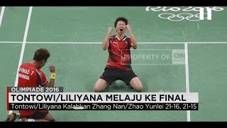 Video Tumbangkan Peringkat 1 Dunia, Tontowi/Liliyana Melaju ke Final Olimpiade Rio download MP3, 3GP, MP4, WEBM, AVI, FLV Desember 2018