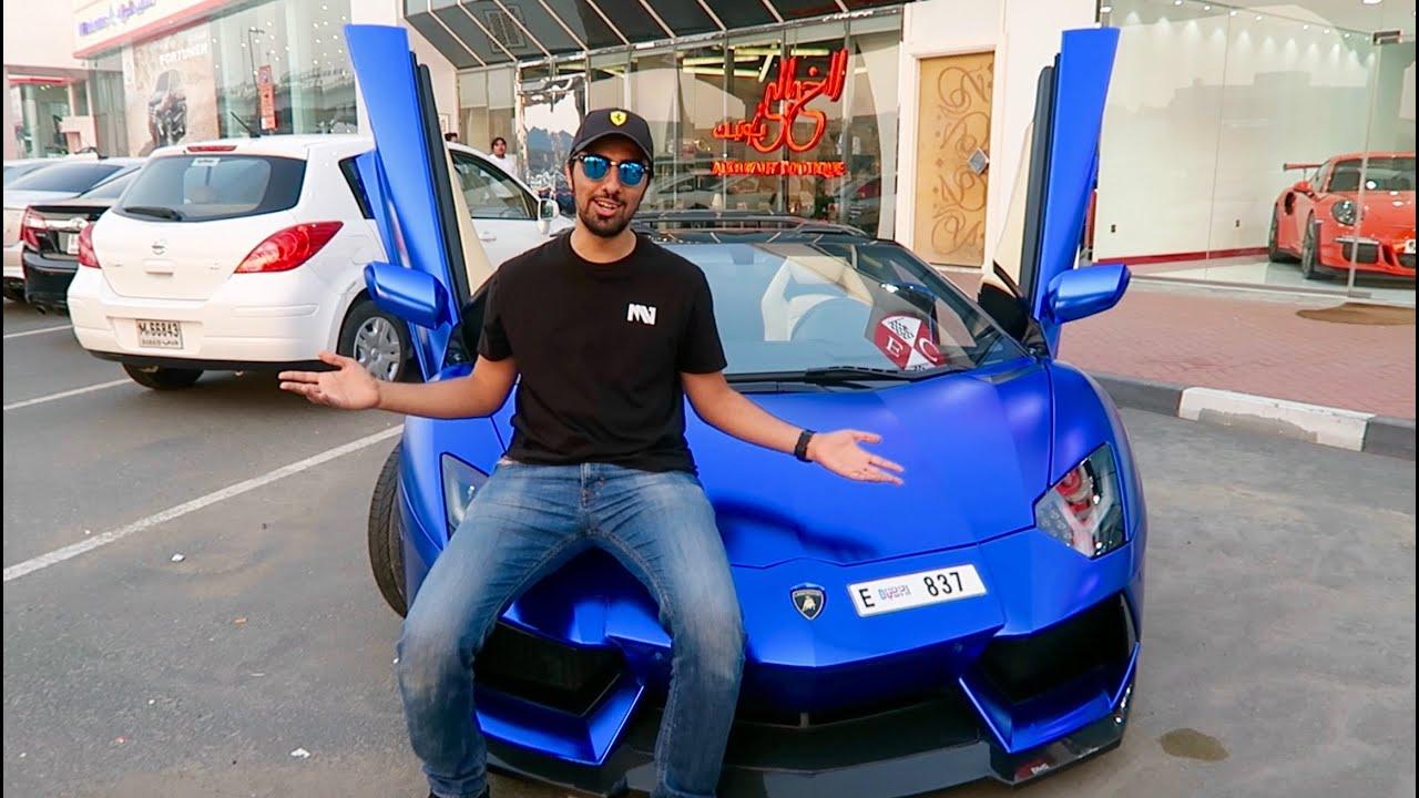 21 Year Old Driving A Lamborghini Aventador In Dubai Youtube