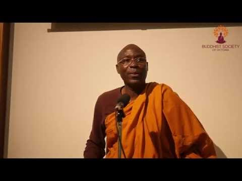 Bhante Buddharakkhita - Finding Meaning in a Job you Hate