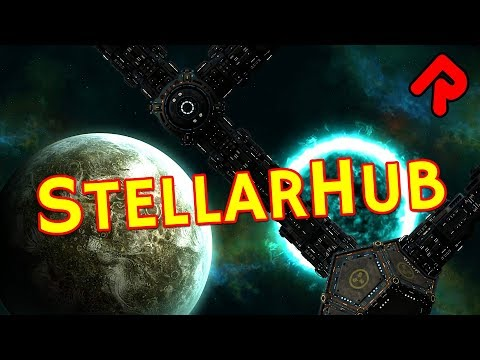 StellarHub - Space Station Simulator with Killer Asteroids! | Let's play StellarHub gameplay