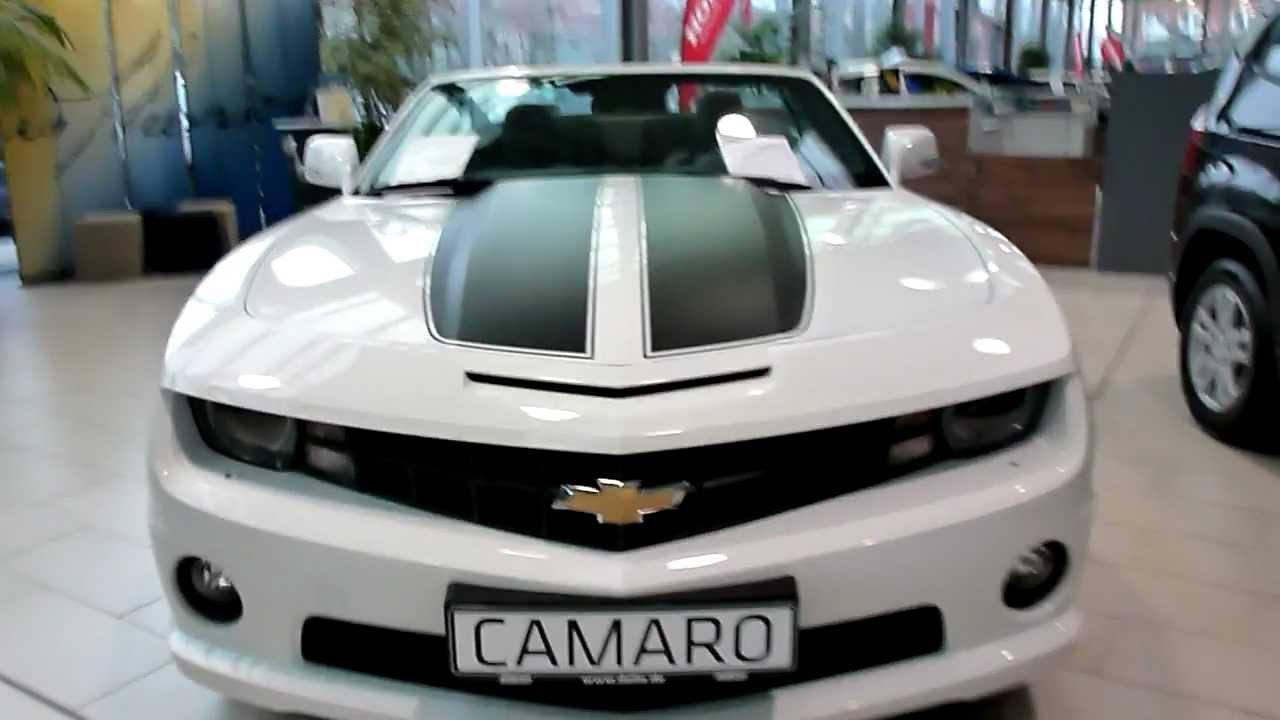 Chevrolet Camaro Convertible 62 V8 432 Hp EU Export Versio 2012
