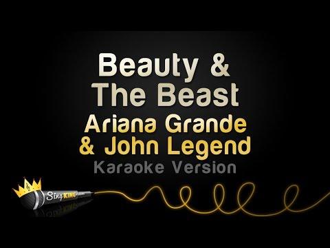 Ariana Grande, John Legend - Beauty & The Beast (Karaoke Version)
