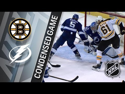 Boston Bruins vs Tampa Bay Lightning – Mar. 17, 2018 | Game Highlights | NHL 2017/18. Обзор