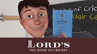 Fair Catch   The Laws of Cricket with Stephen Fry