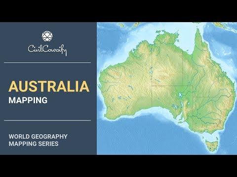 AUSTRALIA || World Geography Mapping