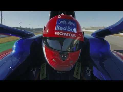 F1 2019 - The Toro Rosso Honda STR14 on track at Misano (long clip)