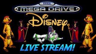 Sega MegaDrive Disney Movie Games Live Stream Part 2. 700 Subscriber Special!