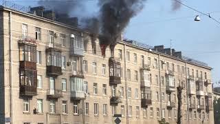 Пожар на ул. Зайцева 18 03.08.2018 Часть 1